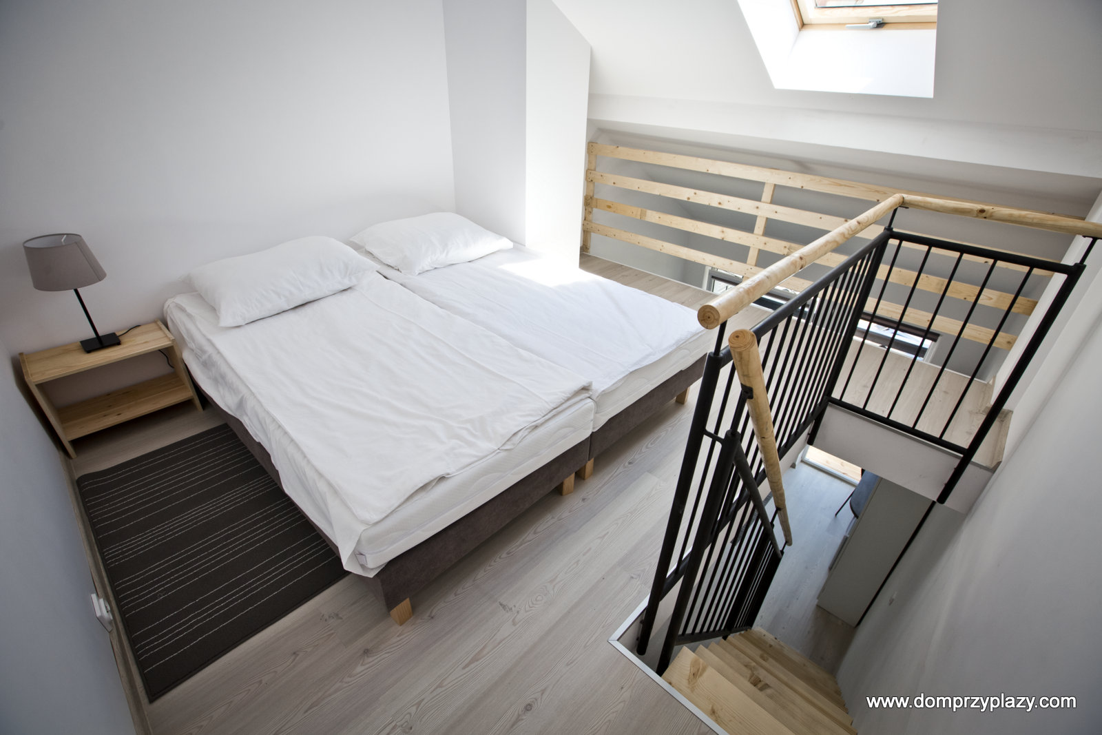 Apartamenty 2 piętrowe - sypialnia