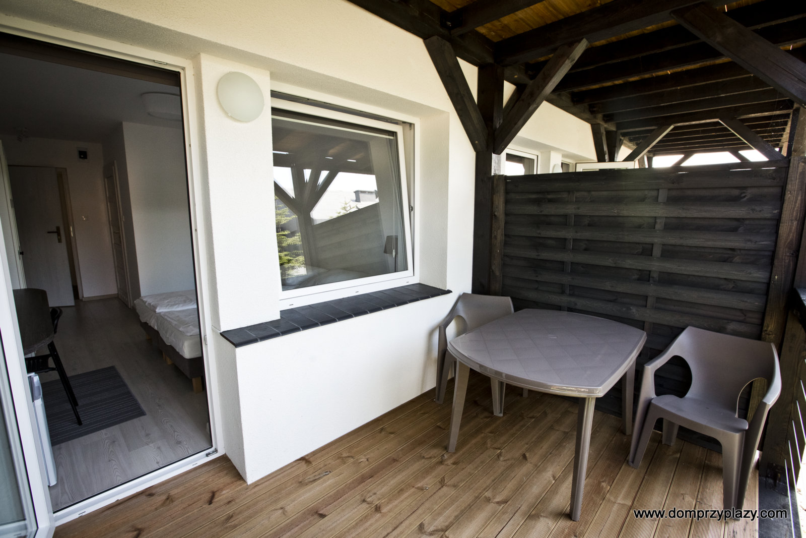 Duże balkony i tarasy
