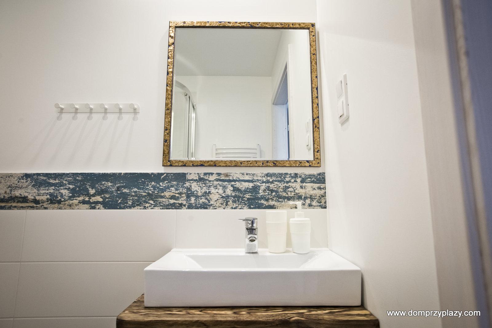 Dobrze wyposażone łazienki w Pensjonacie
